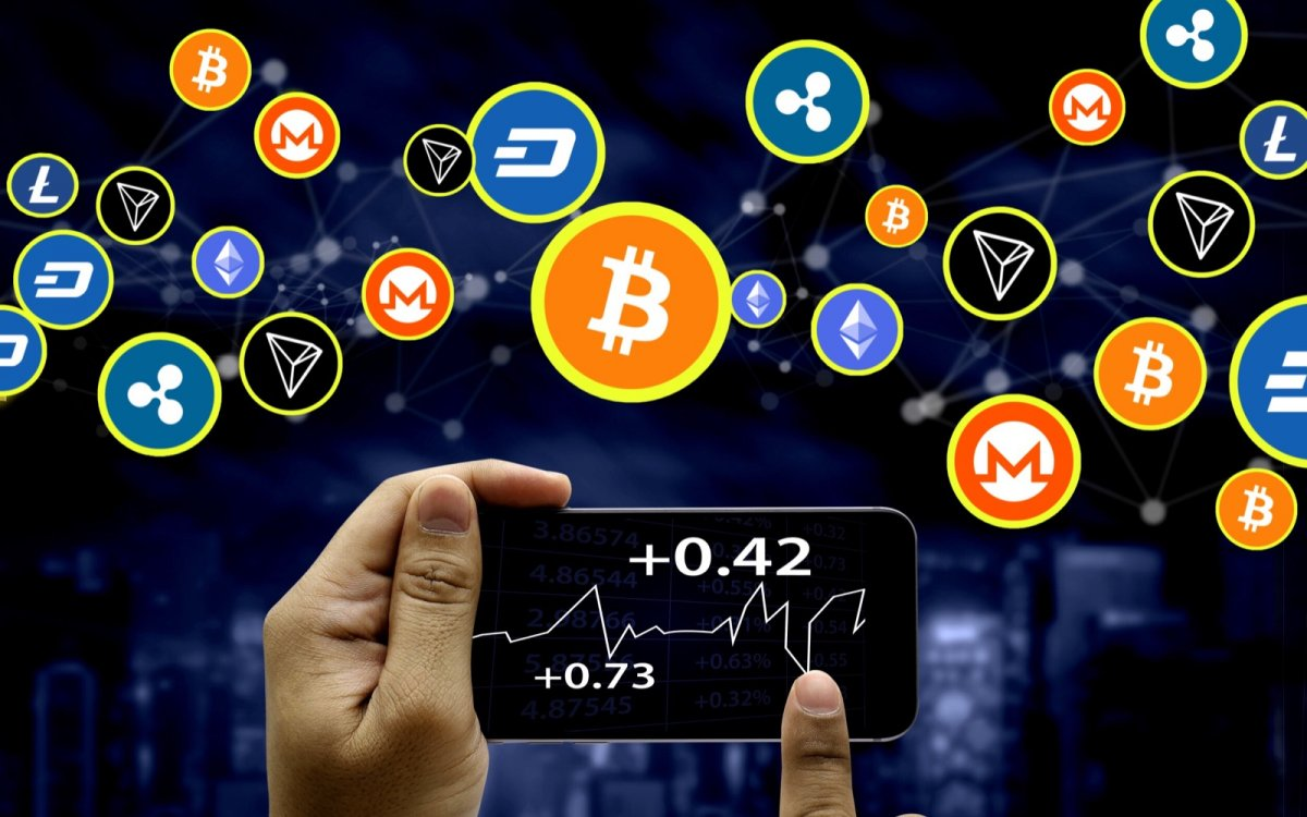 جهش بازار ارز های رمز نگاری با بیت کوین، اتریوم و ریپل