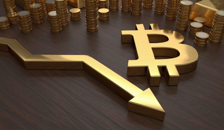 قیمت بیت کوین تا کمتر از ۸۰۰۰ دلار افت می کند